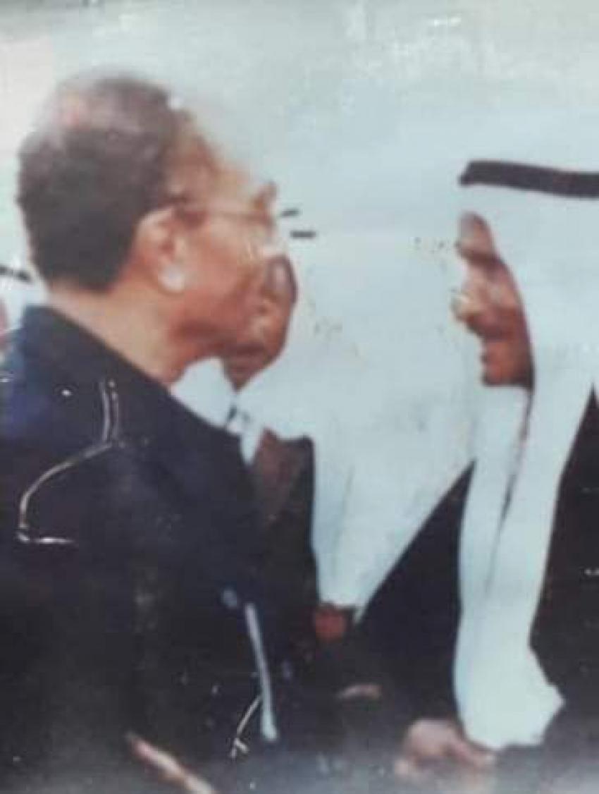 المجاهد الشيخ جديد بن حمود أبو جرّار المسعودي   شيخ عشائر الجراجرة