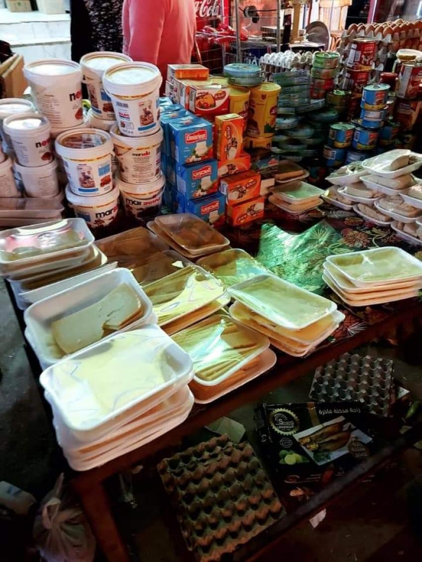 بالصور :حمله مشتركه بين الصحه وتموين السويس على محلات الاغذيه بعد اصابه بعض المواطنين بالتسمم الغذائى .