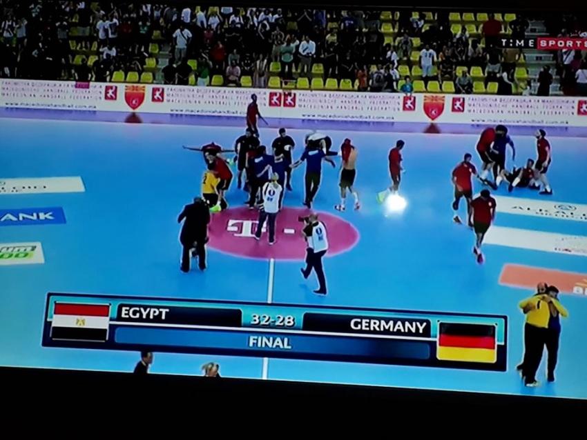 مصر بطلا لكأس العالم لكرة اليد للناشئين بعد الفوز على ألمانيا