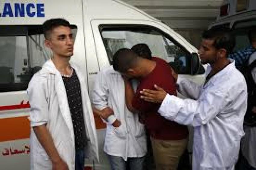 استشهاد فلسطينيين برصاص قوات الاحتلال بالقرب من غزة