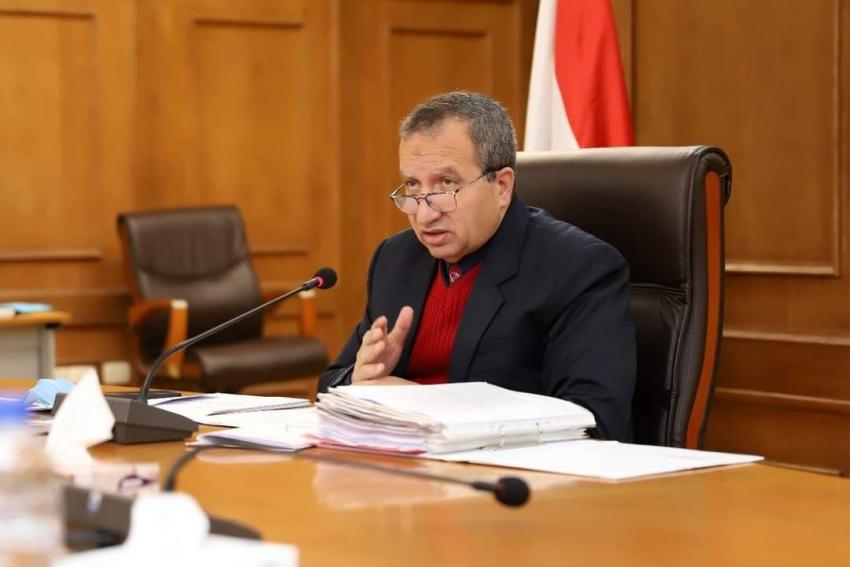 مجلس جامعة السويس يتابع اللمسات النهائية في تطبيق الإجراءات الاحترازية التي سبق إقرارها