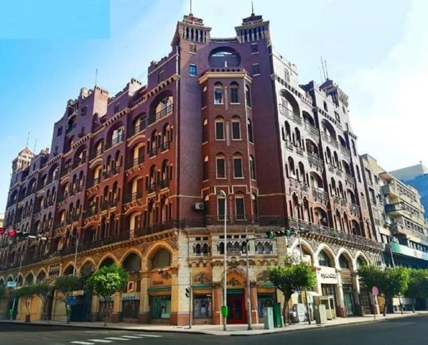 """مبني """" ديفيز براين """" من اجمل المباني القاهرة الخديوية"""