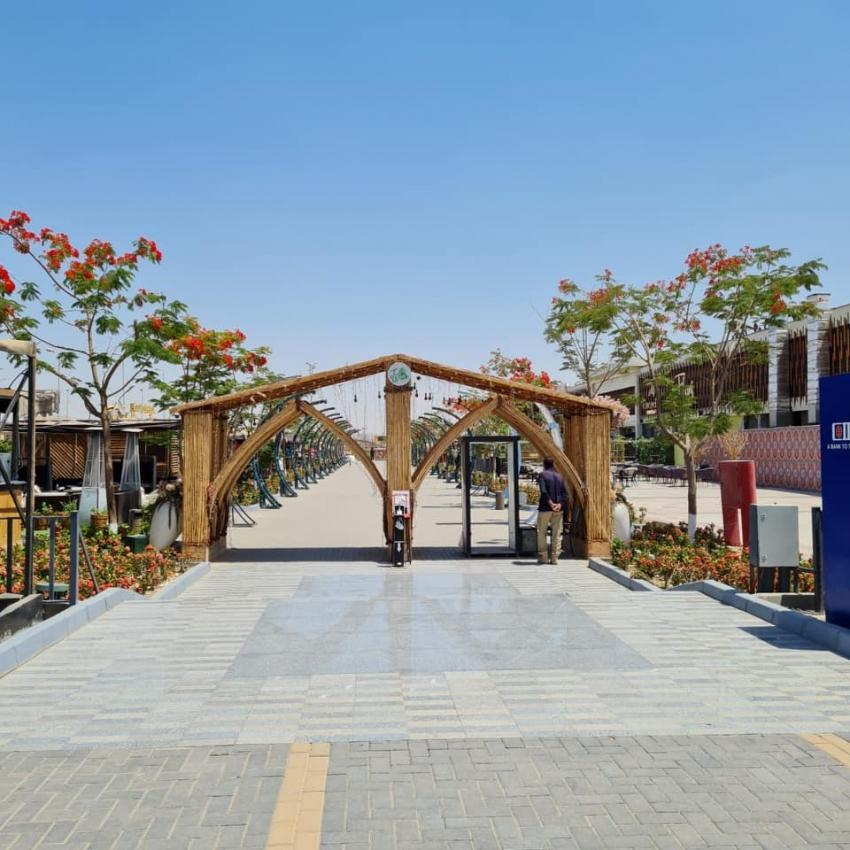 رئيس جهاز مدينة الشيخ زايد: الانتهاء من تنفيذ الممشي السياحى بطول ٦ كم بالواجهة الغربية كمتنزه لسكان المدينة