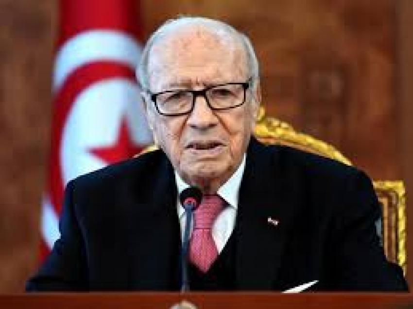 وفاة الرئيس التونسي عن عمر يناهز ٩٢ عاما