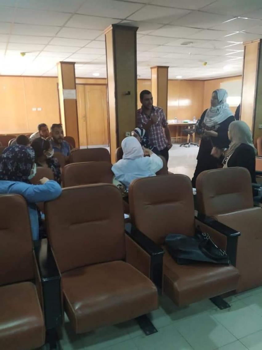 ختام فاعليات تدريب ٩٠ صيدلي تحت رعاية وكيل وزارة الصحة بالسويس.