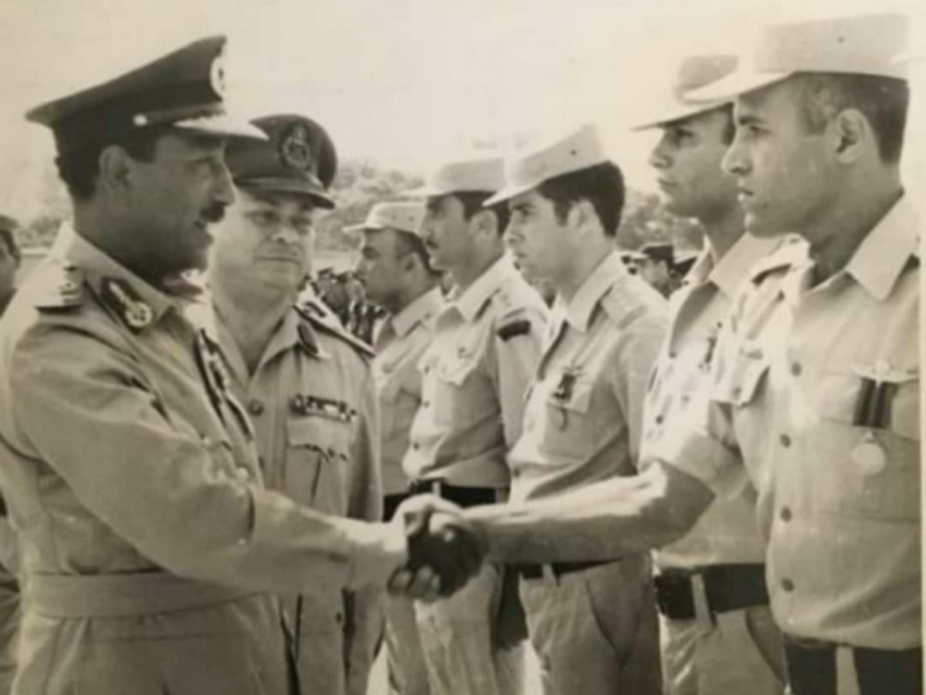 العميد داود محمد غازي  من ابطال الكتيية التاسعة استطلاع خلف الخطوط   بحرب الاستنزاف و نصر أكتوبر 73