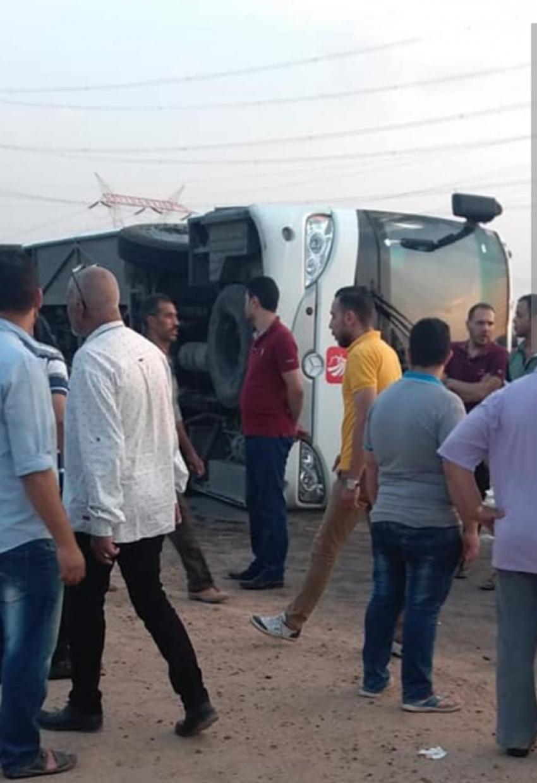 مصرع 3 واصابه 16 في حوادث متفرقه بطرق السويس اليوم الجمعة