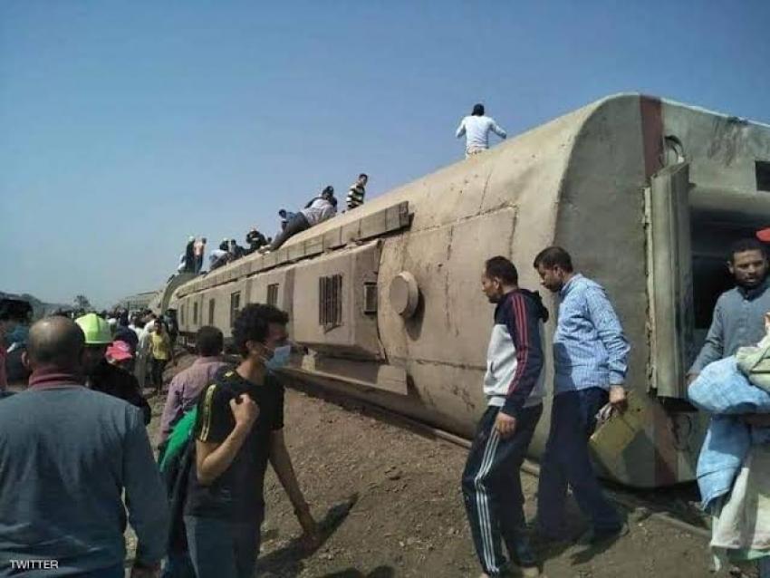السكه الحديد:وفاه رئيس قطار طوخ متأثرا بجراحه