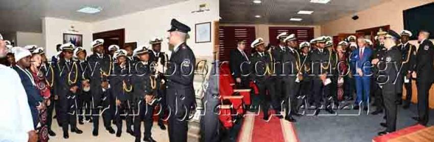 أكاديمية الشرطة تستقبل عدد من الطلاب والدارسين الأفارقة بالأكاديمية العربية للعلوم والتكنولوجيا والنقل البحرى