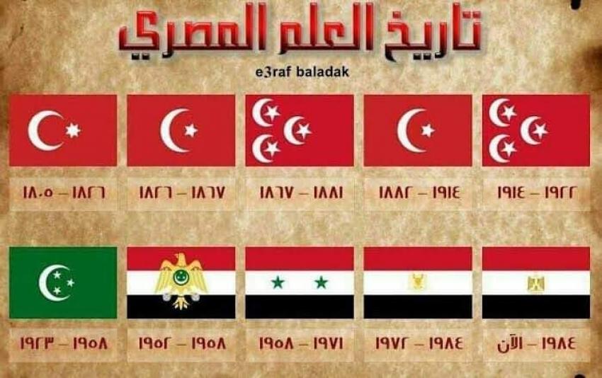تاريخ العلم المصري