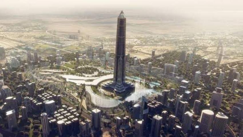 """أطول برج في العالم بالعاصمة الإدارية تجاوز """"خليفة"""""""