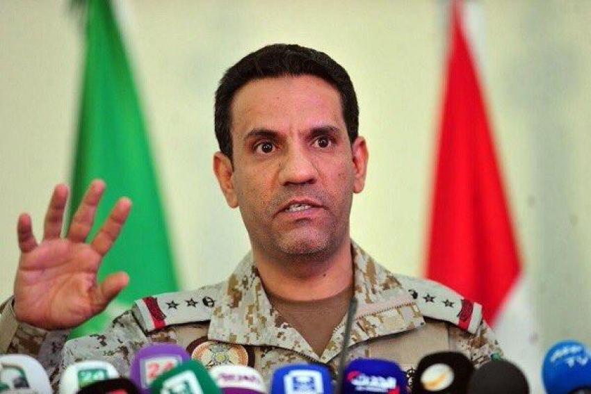 الملكى:  تمكنت  قوات التحالف اليوم الجمعة من إعتراض 5 طائرات أطلقها الحوثيون باتجاه مطار سعودي