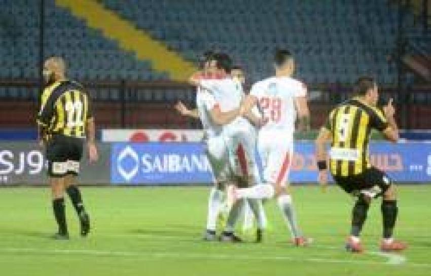 الزمالك يقفز لصدارة الدوري مؤقتا بعد الفوز على المقاولون العرب
