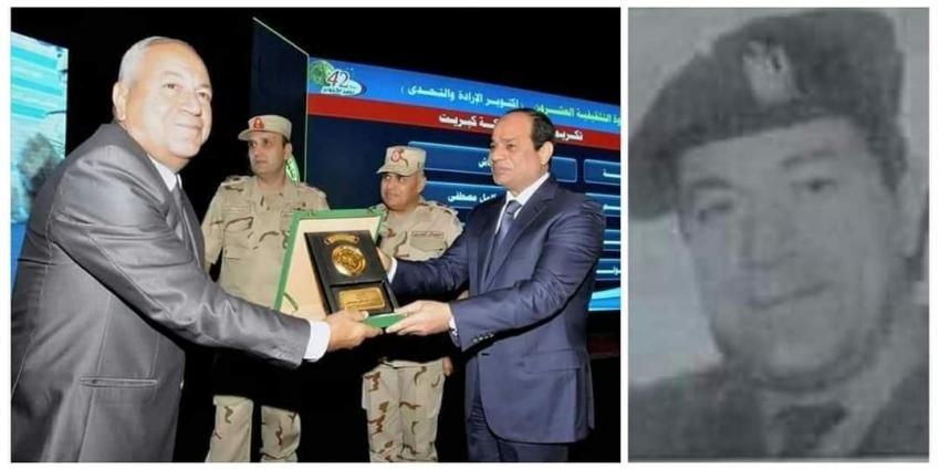 العقيد  مصطفى حسين كامل من اللواء 130 مشاة ابطال الاستلاء و الصمود بموقع كبريت
