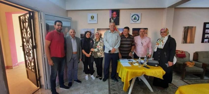إبراهيم عبده رئيسا لمركز شباب المثلث بالسويس