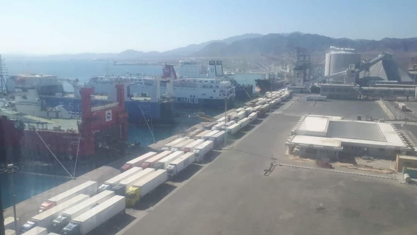 تداول 6100 طن بضائع عامة ومتنوعة بموانئ البحر الاحمر