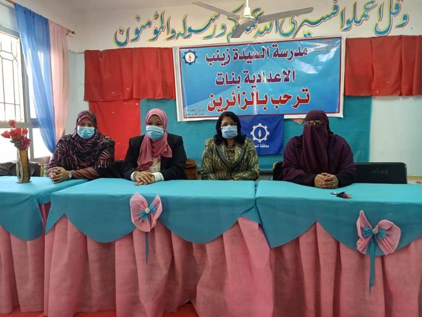 النيل للاعلام بالسويس يطلق اولى فاعليات الرعاية الصحية لمواجهة فيروس كورونا المستجد ((كوفيد 19)) بالمدارس