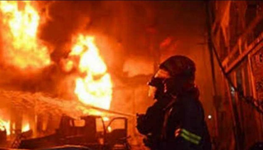 عاجل.. اندلاع حريق كبير فى منطقة دير القمر بجبل لبنان