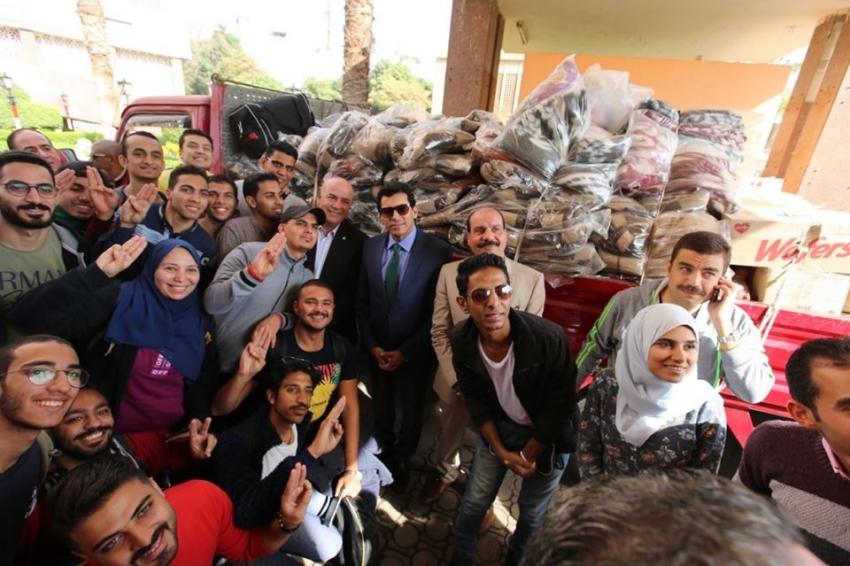 الشباب والرياضة تنفذ القافلة الرياضية التنموية الكشفية لأهالي مدينة حلايب وشلاتين وأبو رماد