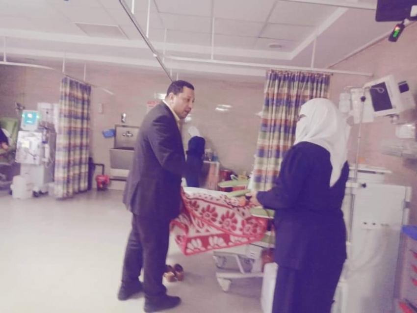 صحة السويس :مرور مفاجئ على مركز طبى الصباح و مركز الاطفال المبتسريين والغسيل الكلوى بالصباح