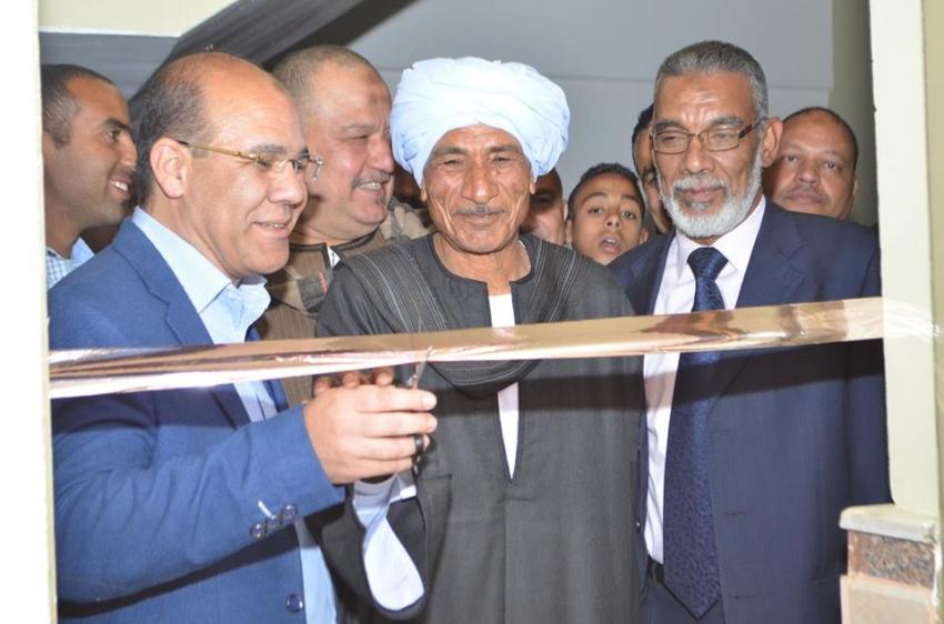 افتتاح مقر أمانة الجناين بحزب مستقبل وطن بالسويس