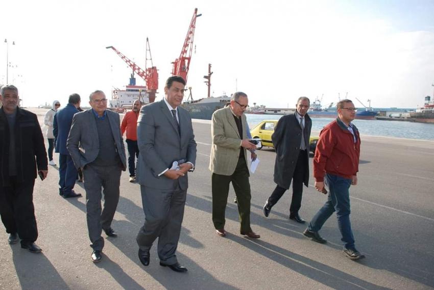 رئيس هيئة موانى البحر الاحمر يدعو المستثمرين وشركات الملاحة للتعاون مع الهيئة لجذب المزيد من الاستثمارات