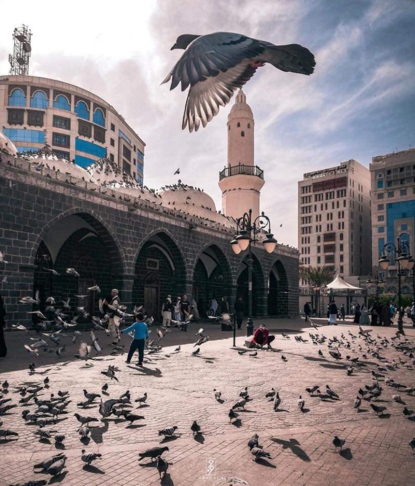 """""""مسجد الغمامة """" في رحاب المدينه المنورة"""