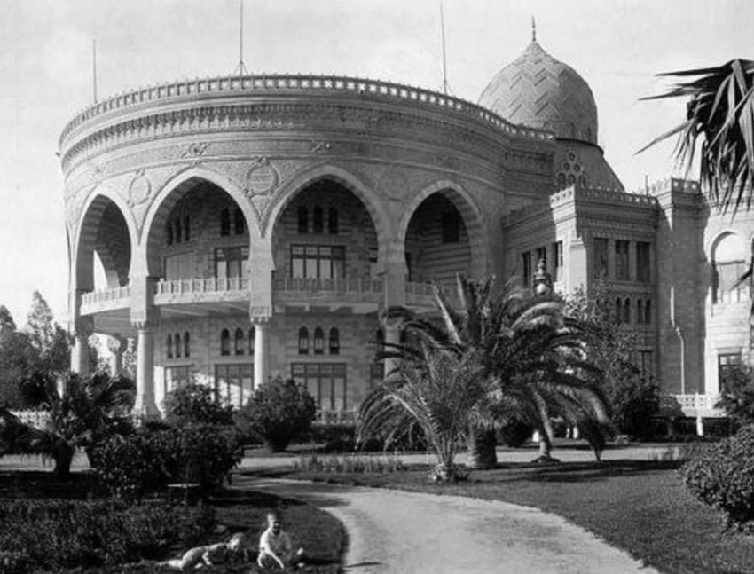 حكاية قصر الاتحادية الرئاسي .