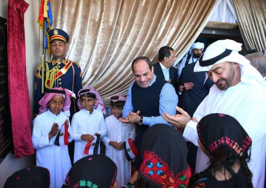 الرئيس السيسي: مهرجان شرم الشيخ التراثي يؤكد عمق الصداقة والمحبة بين مصر والإمارات