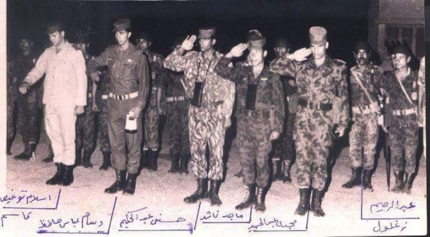 لواء بحري ماجد مصطفي ناشد احد ابطال لواء الوحدات الخاصة بالقوات البحرية  و المجموعة 39