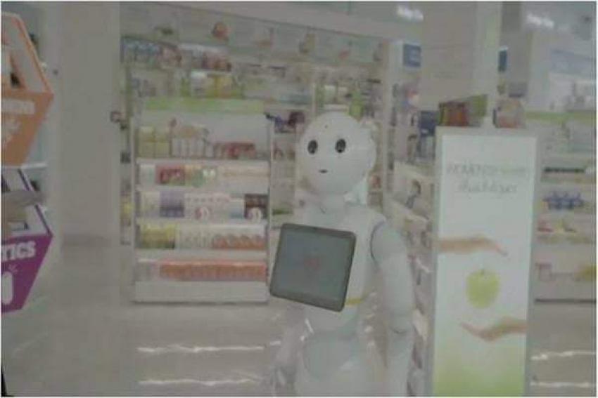 """.""""روبوت"""" صيدلى يصرف الأدوية فى السعودية"""