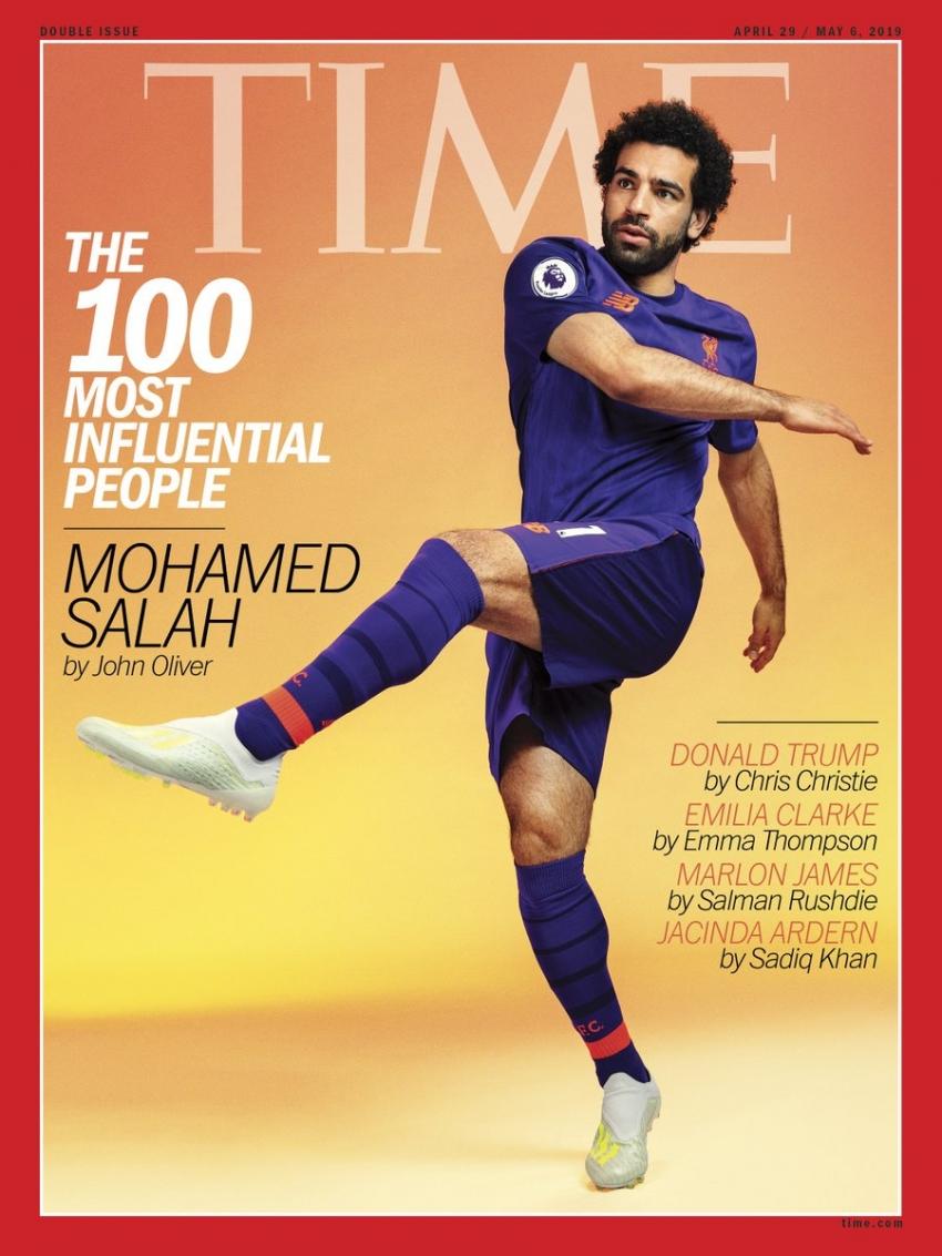 محمد صلاح ضمن أكثر 100 شخصية مؤثرة في العالم