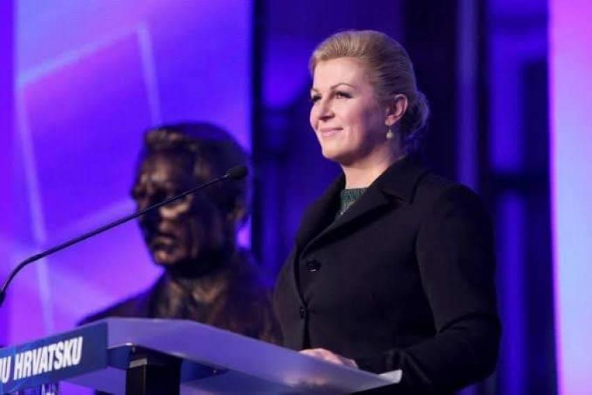 كولندا غرابار كيتاروفيتش.. رئيسة جمهورية كروتيا