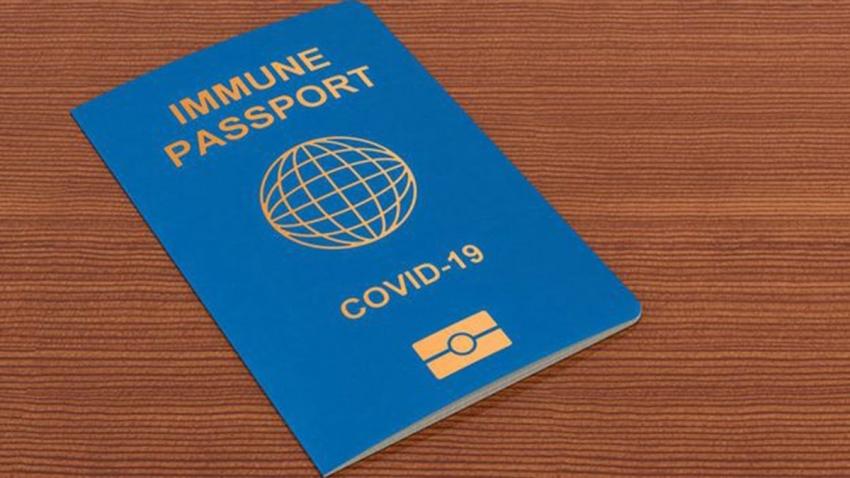 خلال اسابيع جواز سفر كورونا فى الشرق الاوسط