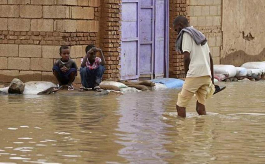 السودان تسجل حوادث غرق وإنهيارات للمنازل