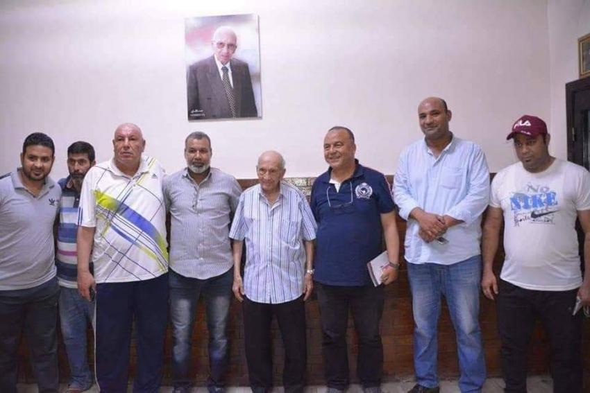 موفد بعثة تونس يزور مركز شباب المدينة