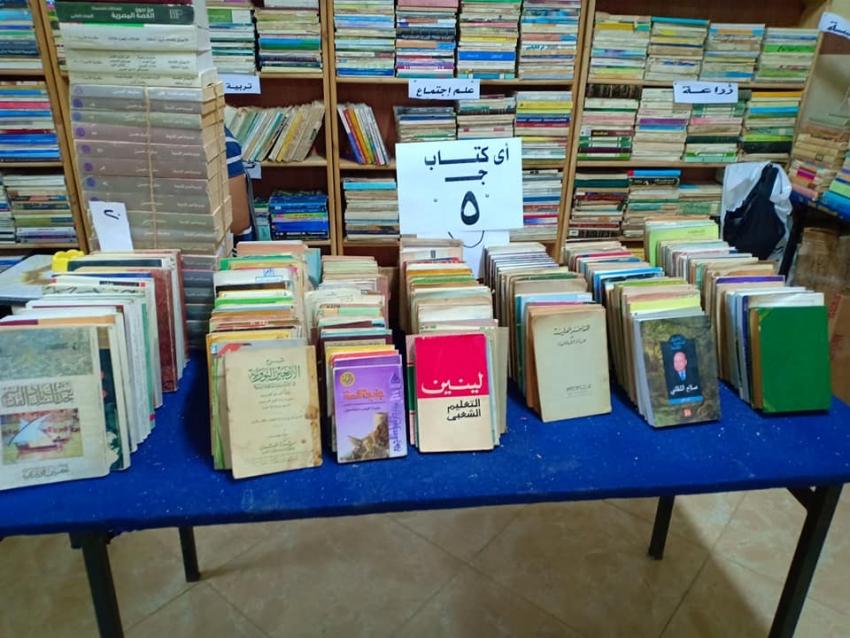 افتتاح معرض الكتاب بجمعية ابناء قوص بالسويس اليوم