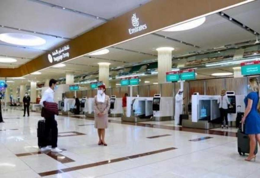مطار دبي يستخدم ماسحة العين للمسافرين بدلًا من جوازات السفر