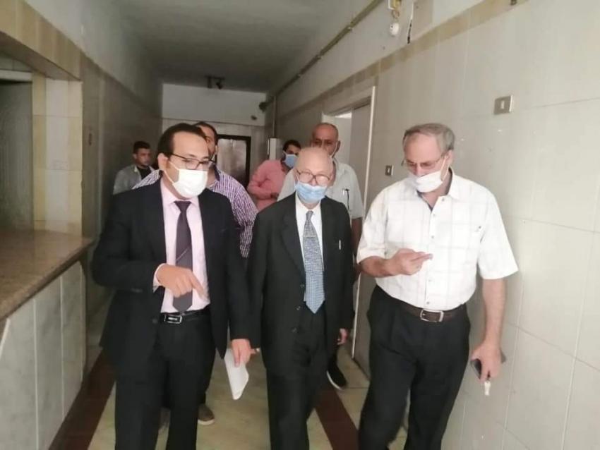 اعتماد قسم الجراحه بمستشفى السويس العام لبرنامج الزماله المصريه