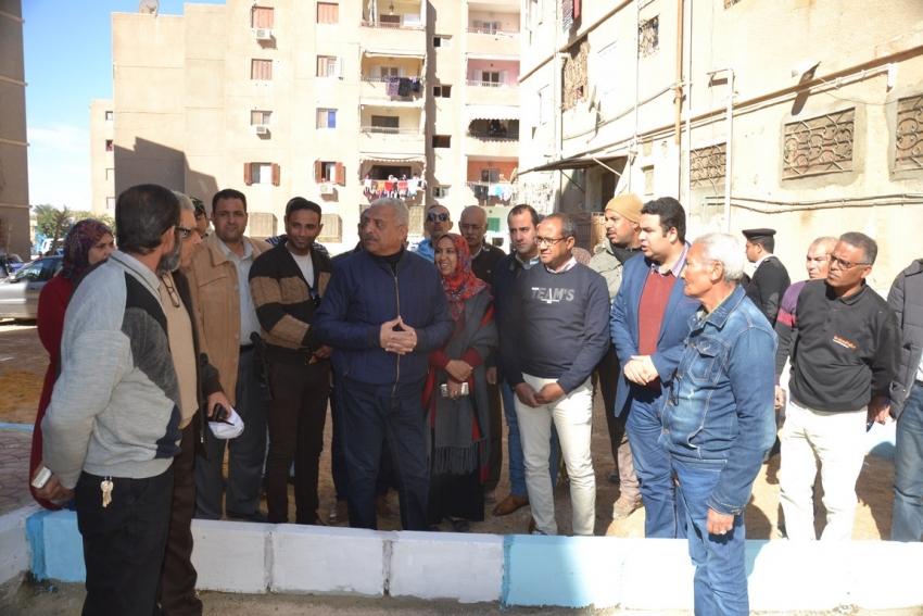 صقر يقرر استكمال تطوير مدينة تعاونيات القاهرة بمحافظة السويس