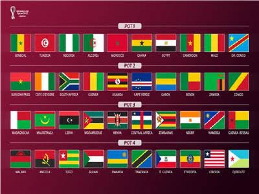 اليوم بالقاهرة قرعة التصفيات الإفريقية المؤهلة إلى نهائيات كأس العالم