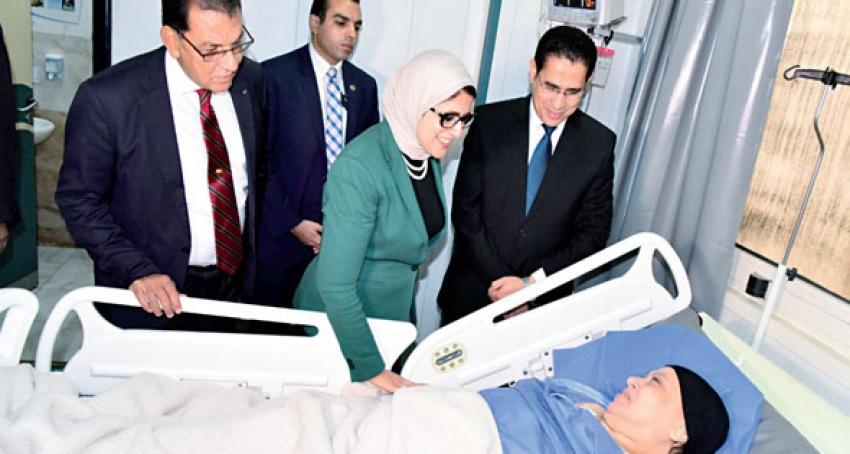 """اكدت الدكتورة """"هالة زايد"""" الانتهاء من 20 ألفا و694 عملية من قوائم الانتظار"""