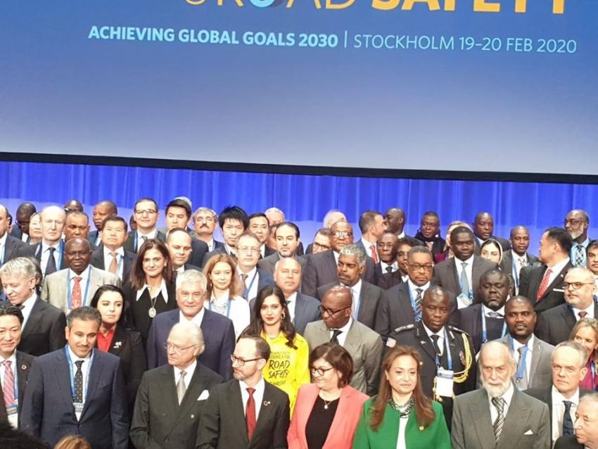 وزير النقل يشارك في المؤتمر الوزاري العالمي الثالث للسلامة علي الطرق بالسويد بمشاركة 80 دولة