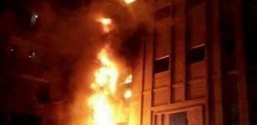 السيطرة على حريق كنيسة العذراء والتحريات الأولية  :ماس كهربائى