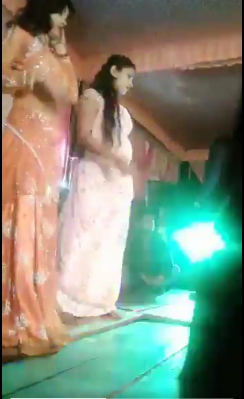 رصاصة فى وجه راقصة تفسد حفل زفاف بالهند