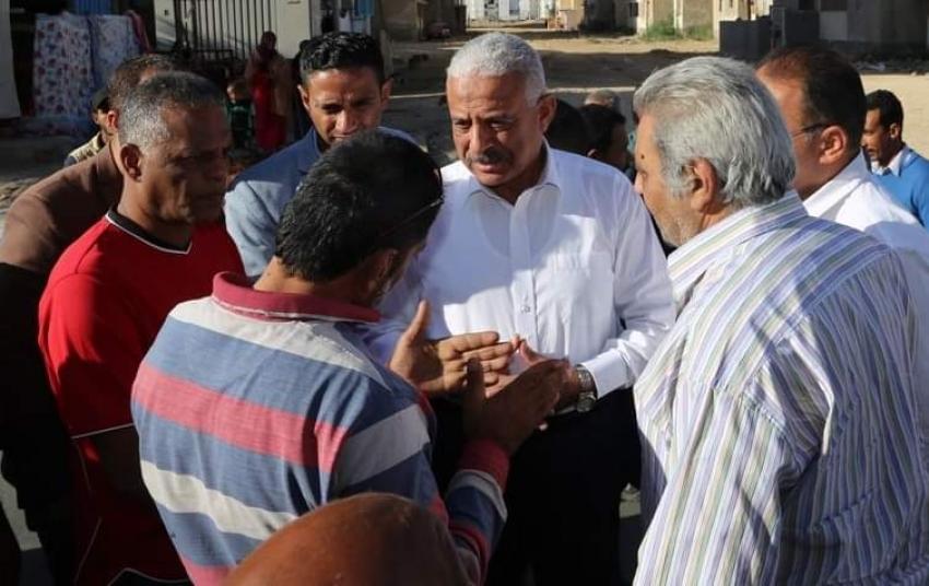 محافظ السويس يتفقد مشروعات جديدة ودراسة لتطوير عرب المعل بحي عتاقة