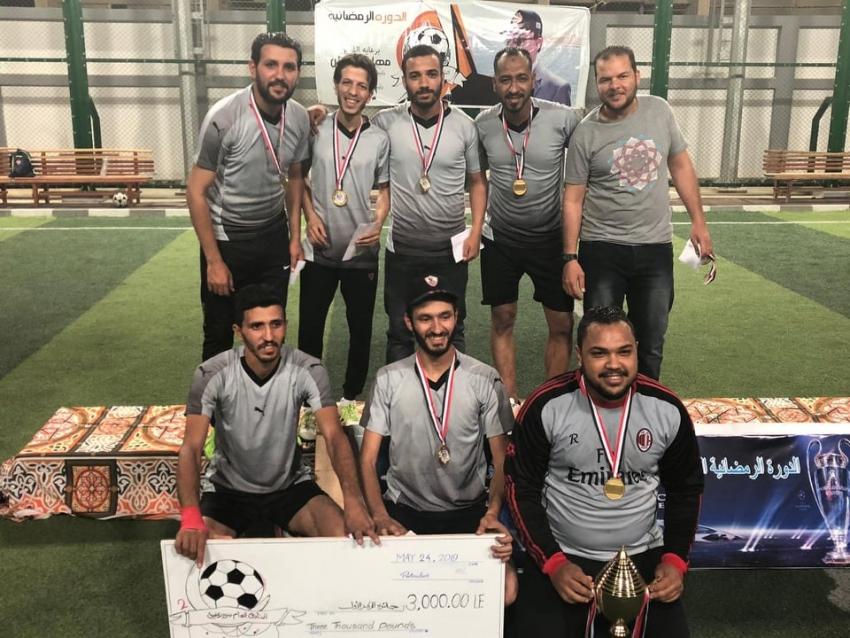 ترسانة FC  يفوز على الامدادات ويحصل على كاس هئية قناة السويس بالسويس