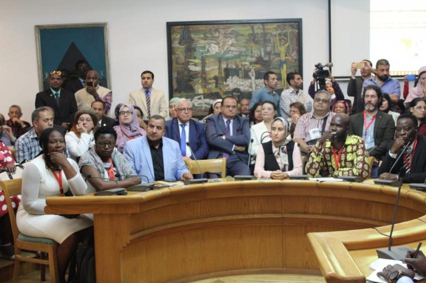 نائب السويس يشارك فى الملتقي الرابع للثقافة الافريقية