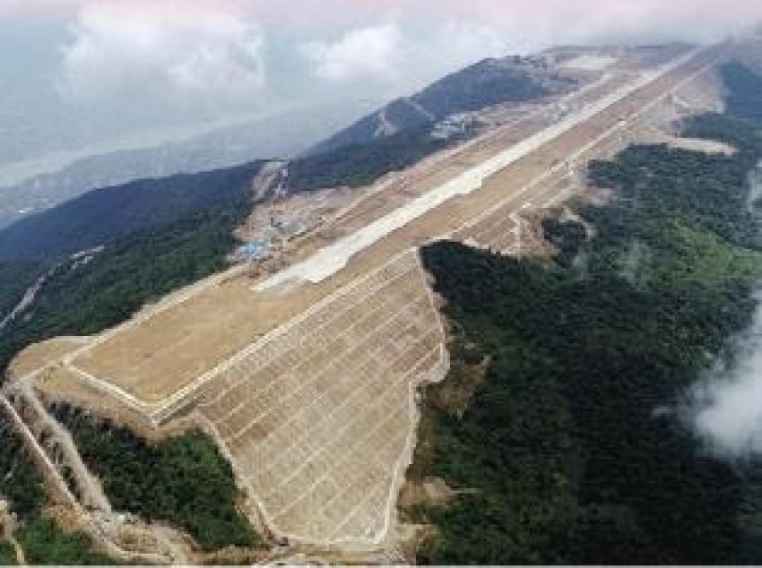 الصين تبني أعلى مطار بالعالم