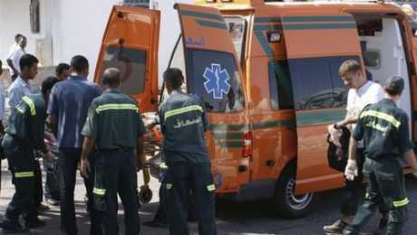 صعق كهربائي يتسبب في حرق من الدرجة الاولى لاحد المواطنين بقرية سياحية واسعاف السويس تنقله للمستشفى